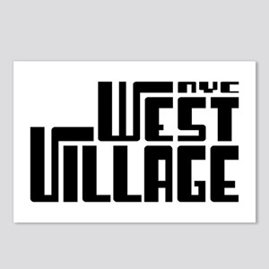 West Village NYC Postcards (Package of 8)