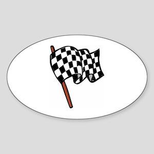Finish Sticker (Oval)