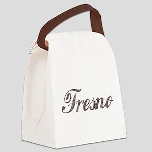 Vintage Fresno Canvas Lunch Bag