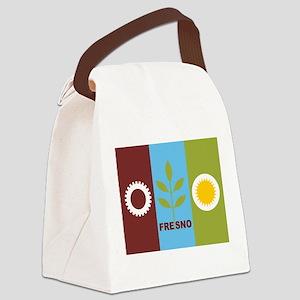 Fresno Flag Canvas Lunch Bag