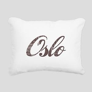 Vintage Oslo Rectangular Canvas Pillow