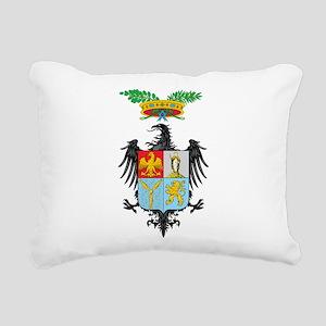 Palermo Coat Of Arms Rectangular Canvas Pillow