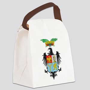Palermo Coat Of Arms Canvas Lunch Bag