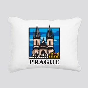 Prague Rectangular Canvas Pillow