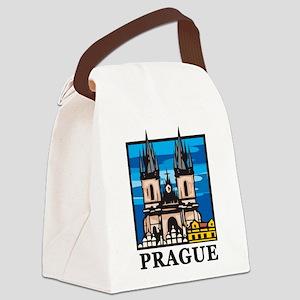 Prague Canvas Lunch Bag