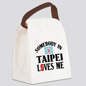 Somebody In Taipei Canvas Lunch Bag