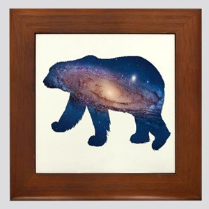 POLAR GALAXY Framed Tile