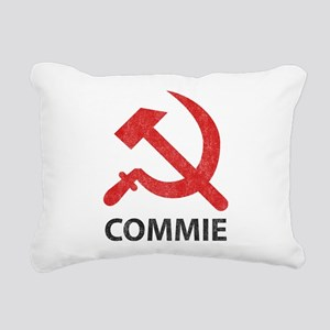 Vintage Commie Rectangular Canvas Pillow