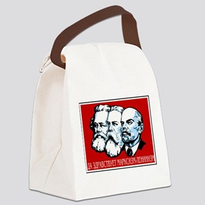 Marx, Engels, Lenin Canvas Lunch Bag