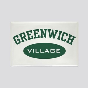 Greenwich Village Rectangle Magnet