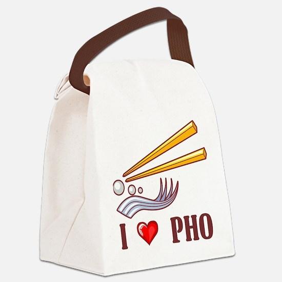 I Love Pho Canvas Lunch Bag