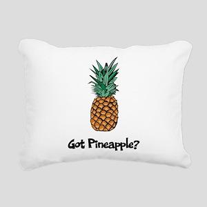 Got Pineapple? Rectangular Canvas Pillow