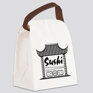 Japan Sushi Canvas Lunch Bag