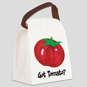 Got Tomato Canvas Lunch Bag