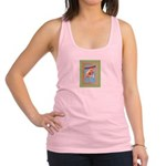 FIN-hang-in-there-baby-greeting Racerback Tank