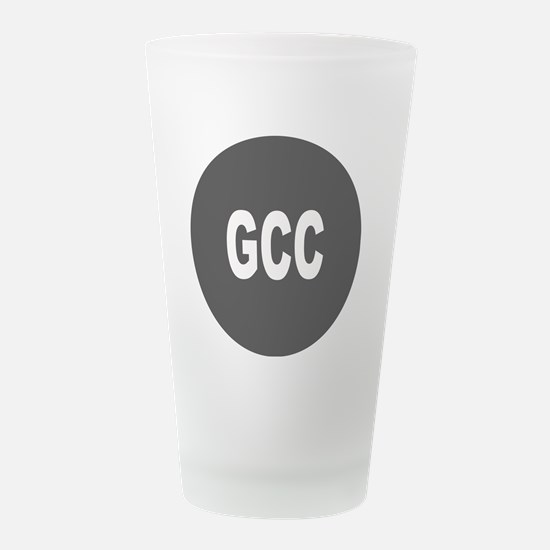 GCC.png Frosted Drinking Glass