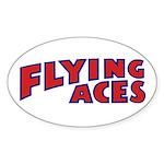 Fac Logo Sticker (oval 10 Pk)