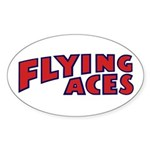 FAC_logo_ONE_6 Sticker (Oval 10 pk)