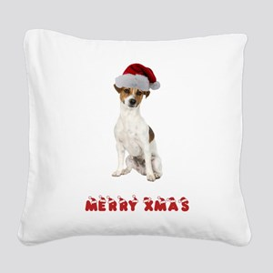 FIN-jrt-merry-xmas Square Canvas Pillow