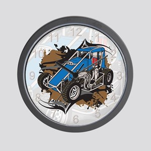 Midget Racing Wall Clock