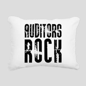 Auditors Rock Rectangular Canvas Pillow