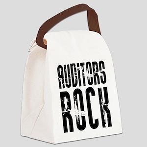 Auditors Rock Canvas Lunch Bag