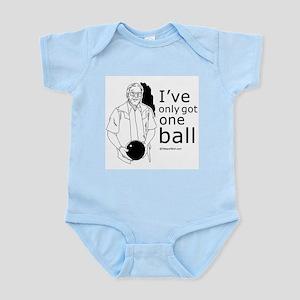 I've only got one ball ~  Infant Creeper
