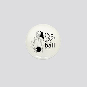 I've only got one ball ~ Mini Button