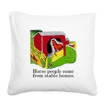 FIN-stable-homes Square Canvas Pillow