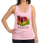 FIN-stable-homes Racerback Tank Top