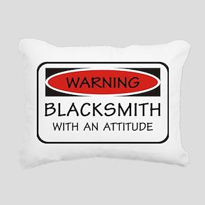 Attitude Blacksmith Rectangular Canvas Pillow