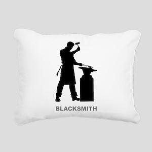 Blacksmith Rectangular Canvas Pillow