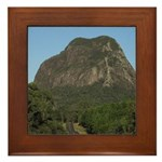 Mt Tibrogargan Framed Tile