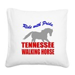 rwp-tennessee-walking-horse Square Canvas Pill