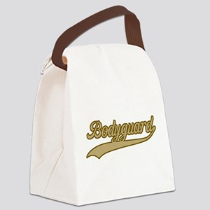 Retro Bodyguard Canvas Lunch Bag