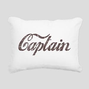 Vintage Captain Rectangular Canvas Pillow