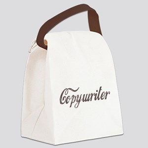 Vintage Copywriter Canvas Lunch Bag