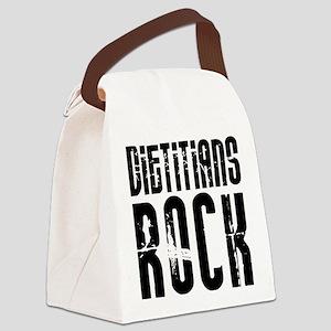 Dietitians Rock Canvas Lunch Bag