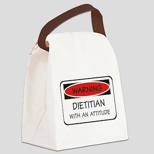 Attitude Dietitian Canvas Lunch Bag