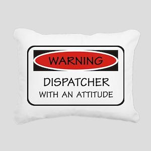 Attitude Dispatcher Rectangular Canvas Pillow