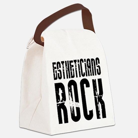 Estheticians Rock Canvas Lunch Bag