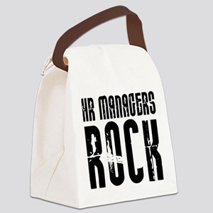 HR Managers Rock Canvas Lunch Bag