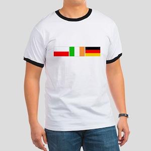 wh-Polish, Irish German Parts T-Shirt