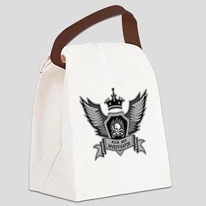 Kick Ass Investigator Canvas Lunch Bag