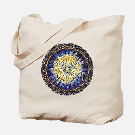 Holy Spirit Transparent Tote Bag