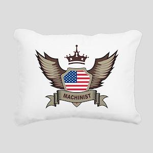 American Machinist Rectangular Canvas Pillow
