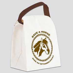 Ride An Opthamologist Canvas Lunch Bag