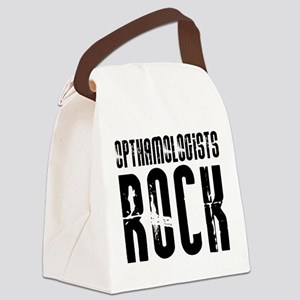 Opthamologists Rock Canvas Lunch Bag