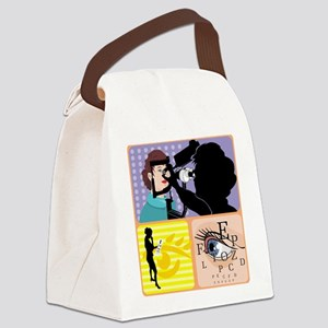 Opthamologist Canvas Lunch Bag
