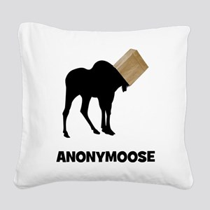 Anonymoose Square Canvas Pillow
